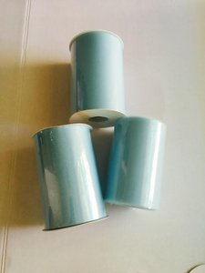 Three Tulle Rolls - 6 In X 100 Yards Each - Aqua Tulle