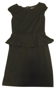 Express Wear To Work Peplum Lace Insert Little Night Out Dress
