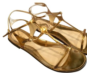 Saint Laurent Bronze Sandals