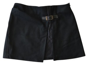 Maje Mini New Mini Skirt Black
