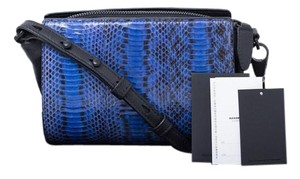 Alexander Wang Blue, Black Messenger Bag
