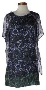 Theory Theysken's Silk Print Dress