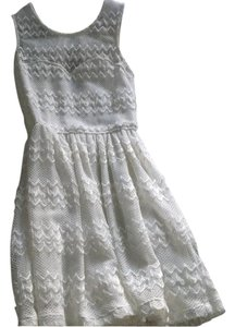 Lovely Day short dress White on Tradesy