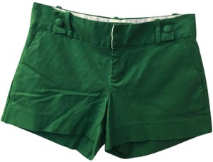 Banana Republic Dress Shorts Emerald Green