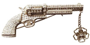 Chanel Chanel *PARIS-DALLAS Artisan Jewelled Gun Pistol Brooch