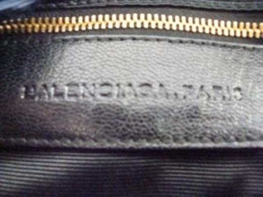 Balenciaga Leather Suede Shoulder Bag