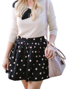Kate Spade Mini Skirt Black and tan