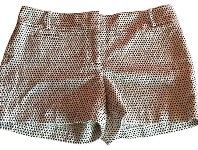 Item - White with Black Dots Shorts Size 6 (S, 28)