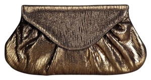 Lauren Merkin Metallic Gold Bronze Clutch
