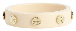 Tory Burch Tory Burch - Resin Logo Stuf Wood Bangle