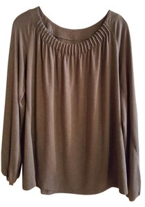Lane Bryant Night Out Party Comfortable Top Grey