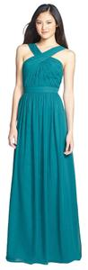 Monique Lhuillier Bridesmaid Wedding Full Length Prom Night Out Dress