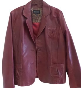 Wilsons Leather Red Blazer