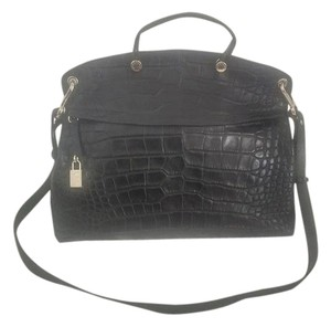 Furla Crocodile Shoulder Bag
