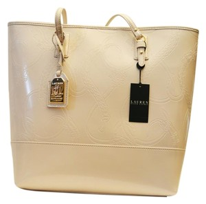 Polo Ralph Lauren Tote in Ivory