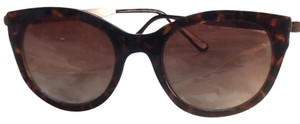 Other Two tone turquoise brown sunglasses