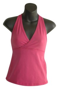 Lululemon raspberry deep V tank top