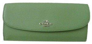 Coach Coach F52689 Crossgrain soft Leather Wallet