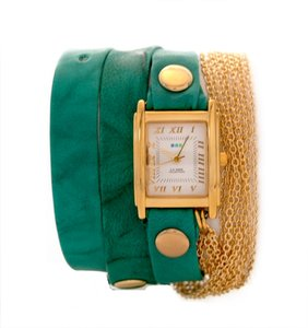 Le Mer La Mer Collections Rio Gold Multichain Wrap Watch