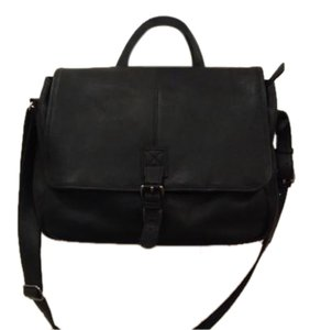 L.L.Bean Black Messenger Bag