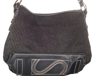 The Sak Monogram Vintage S Bottom Woven Shoulder Bag