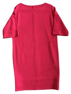 St. John Oversized Longsleeve Party Dress