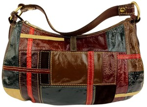 Fossil Patchwork Hobo Bag