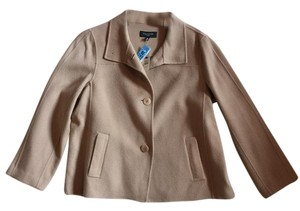Talbots Fall Chic Swing Neutral Basic tan Jacket