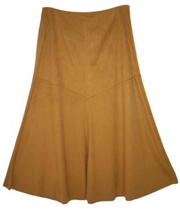 J. Jill Tall Faux Suede Soft Moleskin Skirt