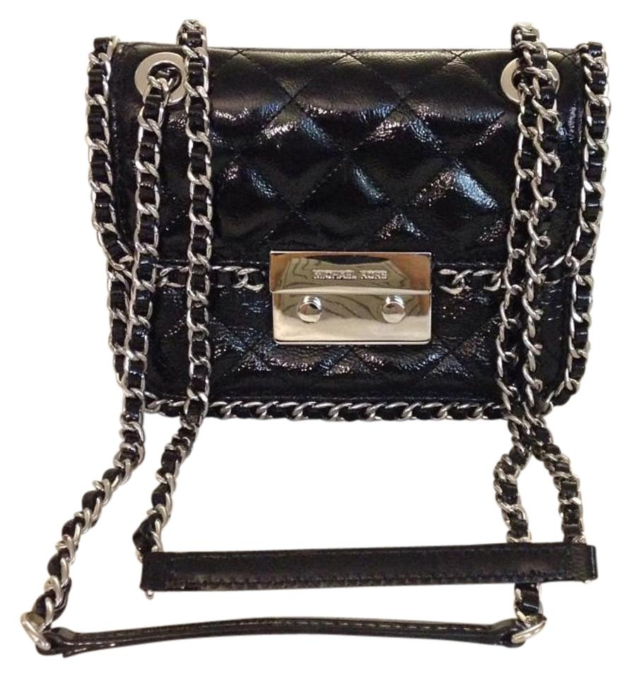 e516d5aade86 MICHAEL Michael Kors Like New Small Chain-strap Wallet Back Leather ...