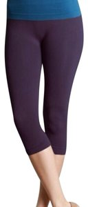 Nikibiki Leggings Yoga Summer Capris Purple
