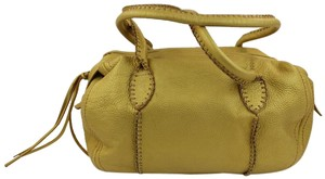 Express Satchel in Gold