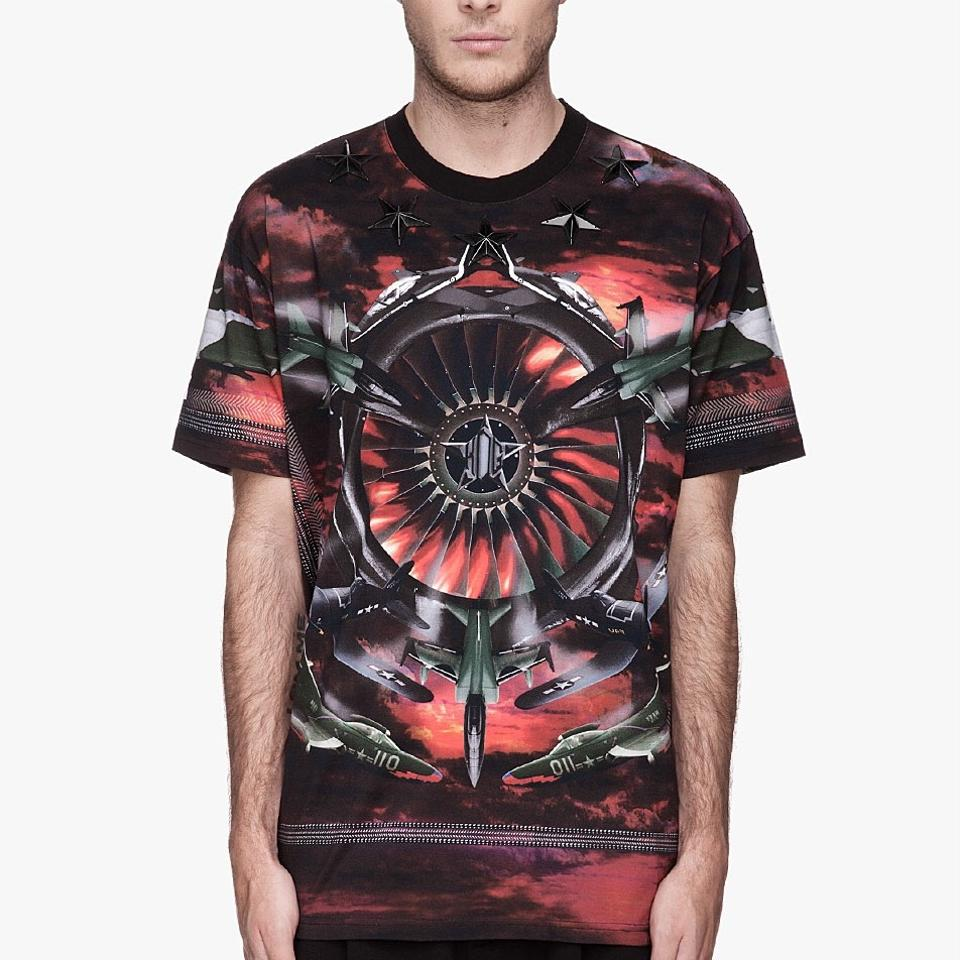 Givenchy airplane t shirt 49 off retail Givenchy t shirt price