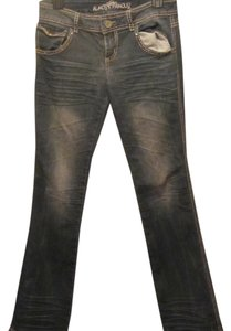 Almost Famous Straight Leg Jeans-Medium Wash