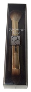 Paula Dorf Cosmetic Brush Dual End DUO CONTOUR COMPLEXION BRUSH IN GOLD NEW