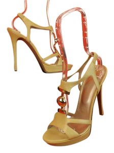 Versace Nude/Gold Sandals