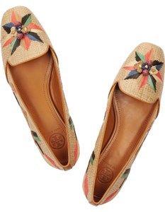 Tory Burch Kaitlin Smoking Moc Mestico Slippers Sand Flats