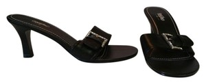 Mossimo Supply Co. Black / Rhinestone Sandals