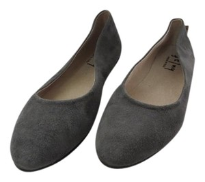 French Sole Comfortable Made In Italy Grey Flats