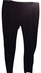 Elle Stretchy Straight Pants BLACK