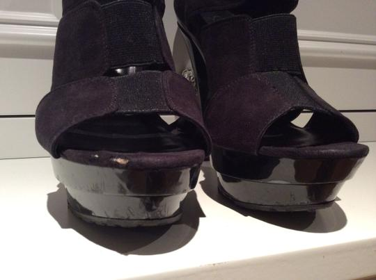 Jessica Simpson Black Platforms
