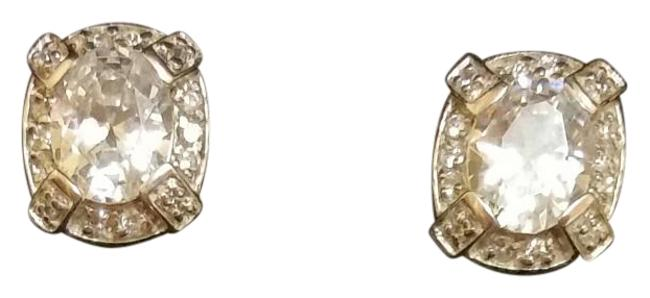 Item - Sterling Silver and Cz 8 Ctw Earrings