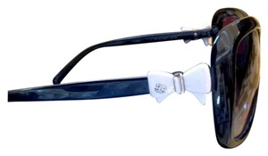 Chanel Chanel White Bow and Black Sunglasses 5171 C501/3C