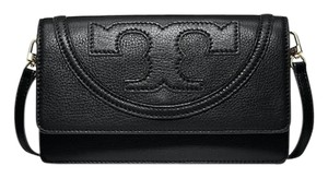 Tory Burch Leather All T Cross Body Bag