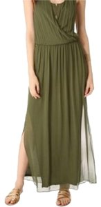 Alice + Olivia Maxi Halter Dress