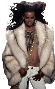 Saga Furs Fox Fur Fur Jacket Fur Coat