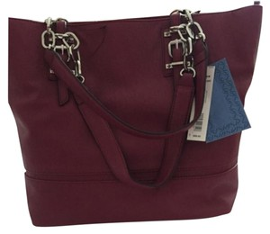 Vera Wang Satchel in Raspberry