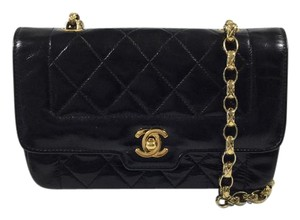 Chanel Vintage Flap Leather Shoulder Bag