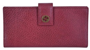 Gucci New Gucci Women's 337337 Miss GG Leather Continental Wallet