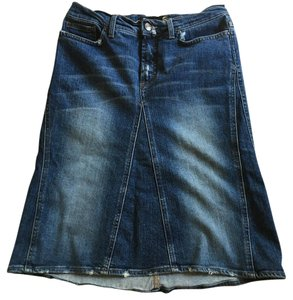 Just Cavalli Cavali Denim Jeans Skirt blue